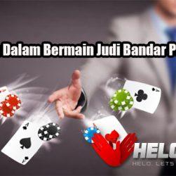 Keuntungan Dalam Bermain Judi Bandar Poker Online